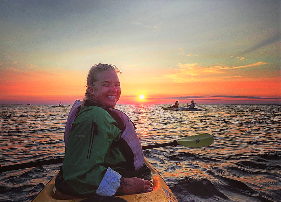 Sunset Kayak Tour Egg Harbor Beach